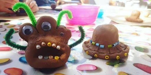 Winchcombe Library - Summer Reading Challenge Clay Modelling Event