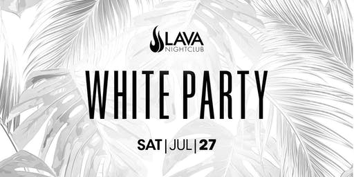 LAVA NIGHTCLUB | WHITE PARTY FEAT. JOE MAZ & DANTE