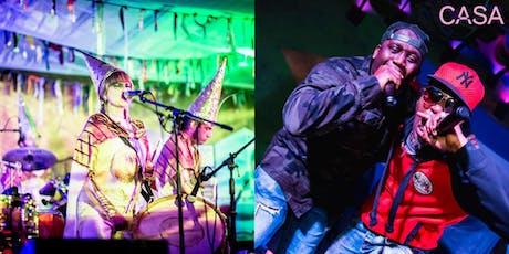 CASAx10 Party: The Flying Swordfish + Philips Man & Lolo Mc I CASA Festival tickets