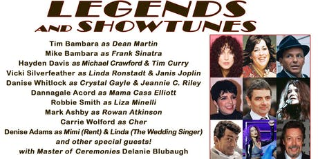 Legends and Showtunes tickets