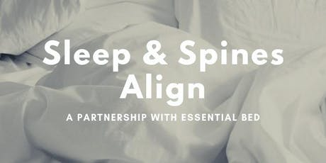The Give Back Movement: Sleep & Spines Align tickets