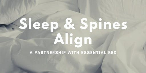 The Give Back Movement: Sleep & Spines Align