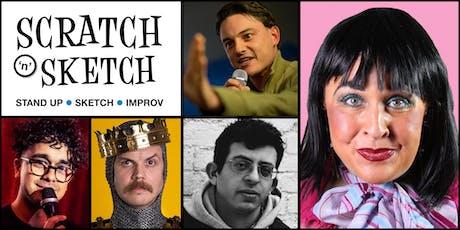 Scratch 'n' Sketch Comedy tickets