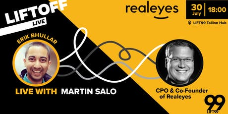 LIFTOFF: Martin Salo, CPO and Founder at realeyes.  tickets