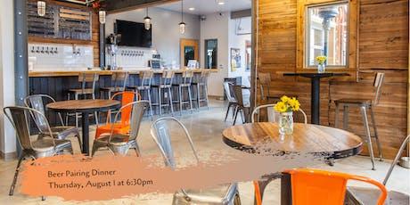Beer Pairing Dinner - Timnath Beerwerks - August 1 tickets