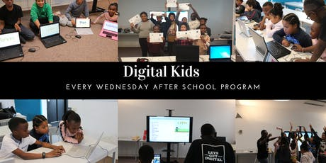 Wednesday Digital Kids After School Program billets