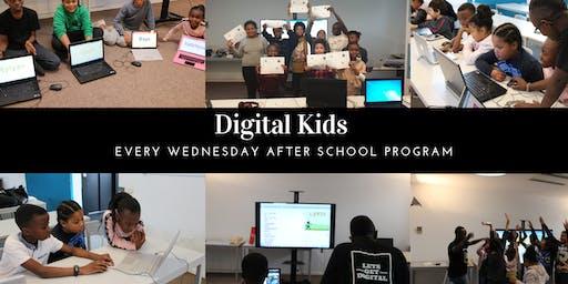 Wednesday Digital Kids After School Program