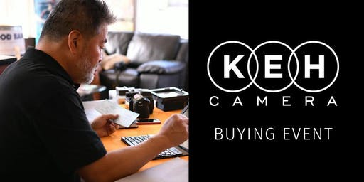 KEH Camera at Woodward Camera- Buying Event