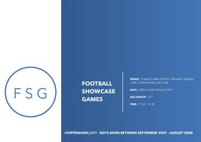 Football Showcase Games | U11Showcase Game