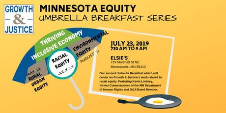 Growth & Justice Umbrella Breakfasts tickets