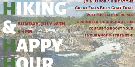 Hike and Happy Hour at Great Falls tickets