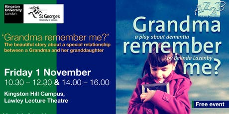 Grandma, Remember Me: Theatre Play tickets