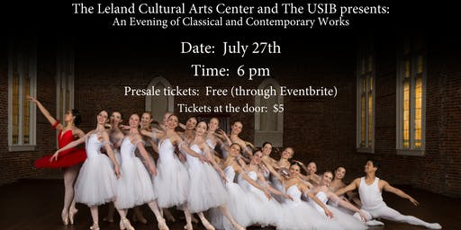 The LCAC & USIB Presents:  An Evening Classical and Contemporary Works