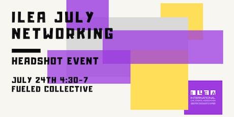 ILEA Greater Cincinnati July Networking: Headshot Event tickets