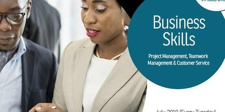 Business Skills tickets