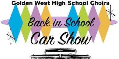 "2019 ""Back in School"" Car Show"