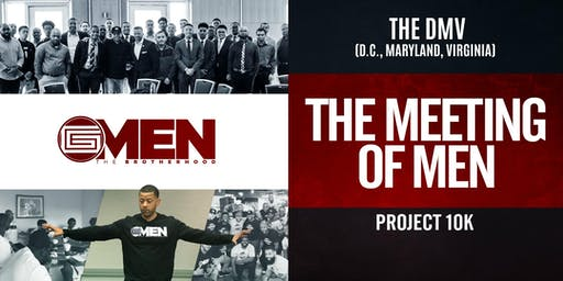 THE DMV - Meeting of MEN with Coach K (MEN ONLY)