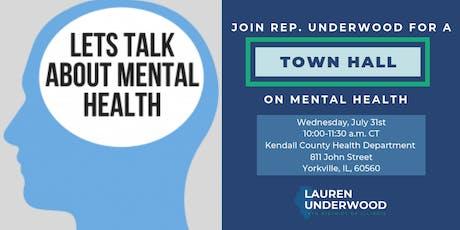 Generation Z/Millennial Mental Health Town Hall tickets