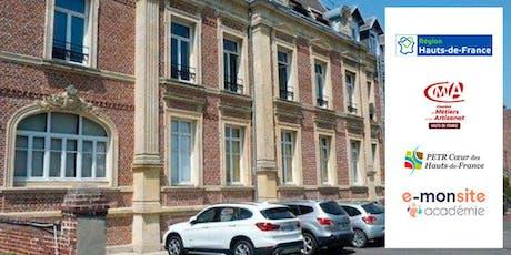 Soyez enfin efficaces sur Internet avec E-monsite Académie à Péronne tickets