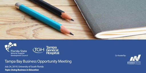 Tampa Bay Business Opportunity Meeting - Education Industry