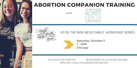 Abortion Companion Training tickets