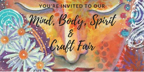 Mind, Body, Spirit & Craft Fair tickets