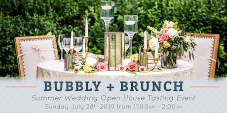 Bubbly + Brunch | Summer Wedding Open House Tasting Event at Historic King Mansion tickets