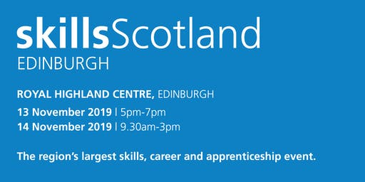 Skills Scotland Edinburgh 2019 - School / College Registration