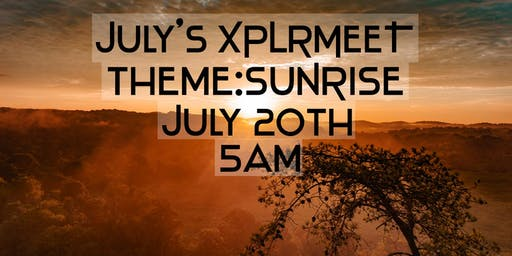 July's XPLRMEET- Sunrise at the Narrows of Harpeth