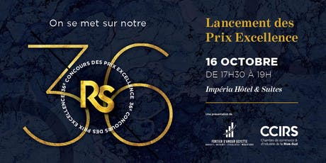 Lancement des Prix Excellence 2019-2020 tickets