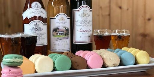 Macaron & Wine/Beer Pairing