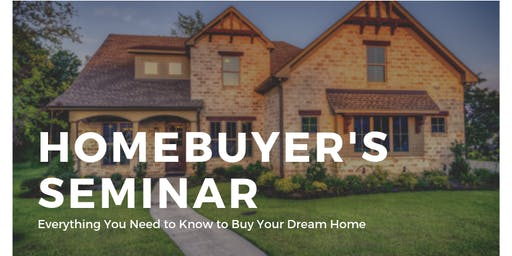 FREE Homebuyer's Seminar