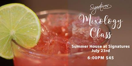 Mixology Class at Signatures Summer House tickets