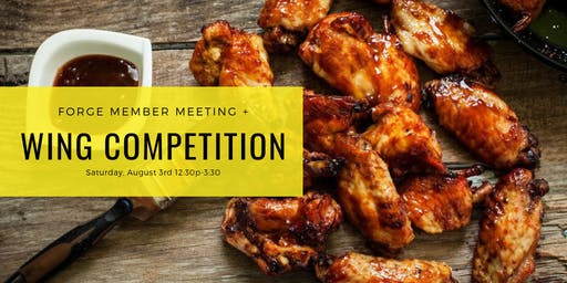 Member Meeting + Wing Competition!
