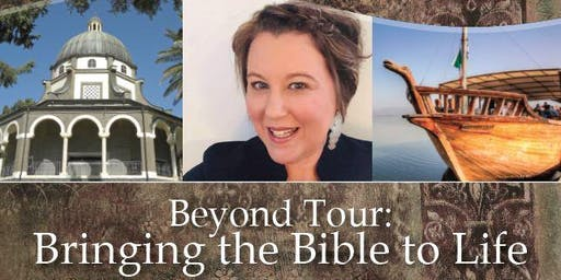 """Info Meeting for """"Beyond Tour: Bringing the Bible to Life"""" March 9-18, 2020"""