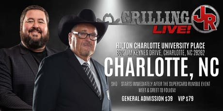 Grilling JR LIVE! tickets