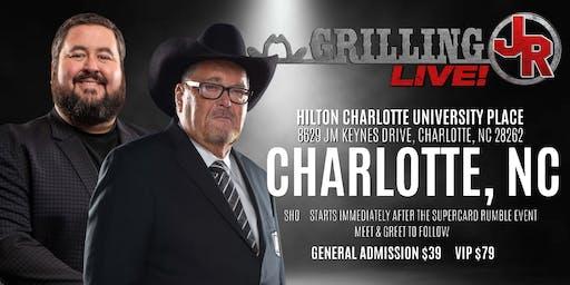 Grilling JR LIVE!
