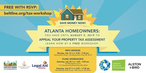 Understanding Your Property Tax Bill & How to File an Appeal - Information Session