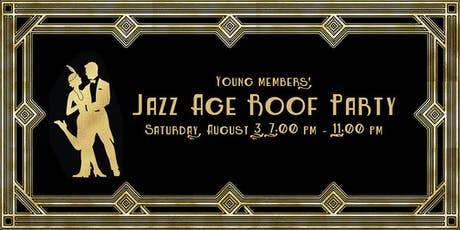 Young Members' Jazz Age Roof Party tickets