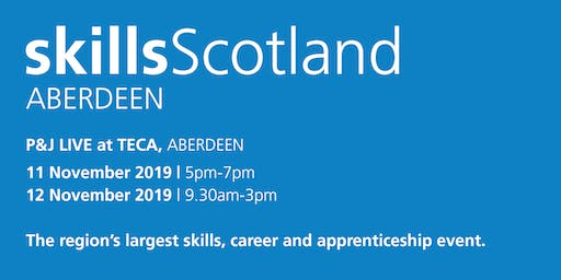 Skills Scotland Aberdeen 2019 - Family / Individual Registration