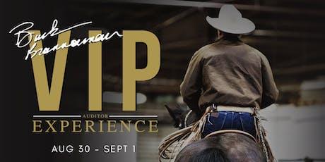 Buck Brannaman VIP Auditor Experience tickets
