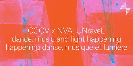 CCOV x NVA ► UNraveL tickets