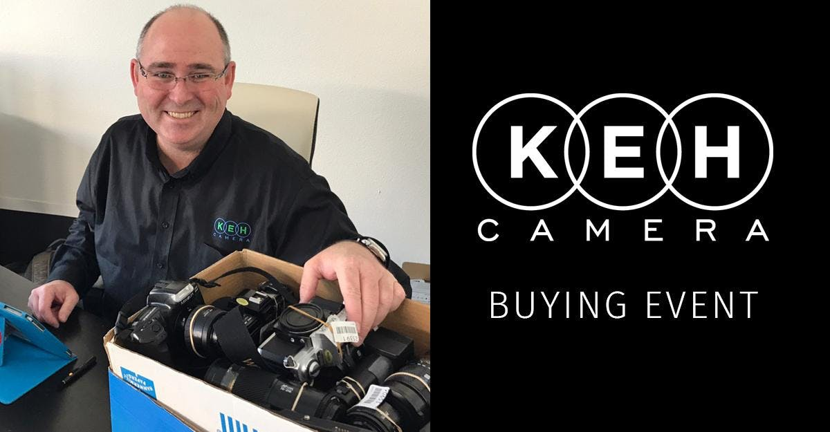 In-House Buying Event at KEH Camera