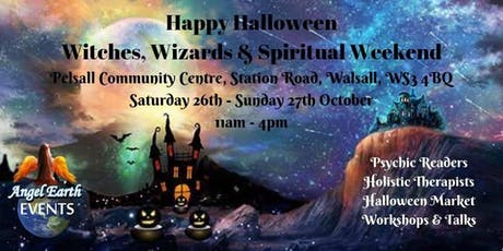 Happy Halloween Witches, Wizards & Spiritual Weekend tickets