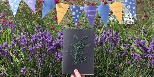 Crafternoon: Sew Together Mindfulness Journal Workshop for Adults