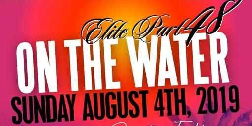 ELITE ON THE WATER *CARIBANA EDITION* TORONTO CARNIVAL SUNDAY BOAT RIDE