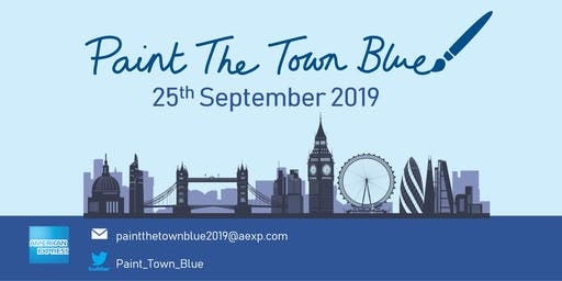 Paint The Town Blue 2019 - American Express