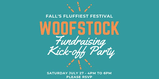 Woofstock Fundraising Kick-off Party