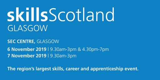 Skills Scotland Glasgow 2019 - School / College Registration