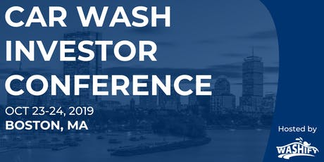 Car Wash Investor Conference: Hosted by Washify  tickets